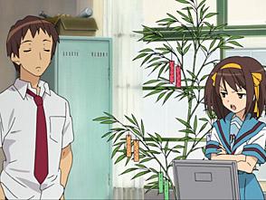 涼宮ハルヒの憂鬱(2009年放送版) 第8話 笹の葉ラプソディ