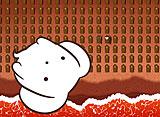 うーさーのその日暮らし 夢幻編 第9話 青い海白い砂浜、黒いうーさー