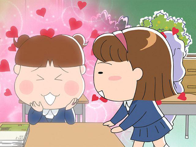 新あたしンち 第4話 川島、おまじない/水島さん、若い/自分のお尻は自分でね