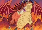 ワンピース 第580話 灼熱の闘い! ルフィVS巨大竜!