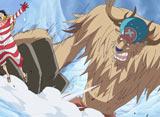 ワンピース 第593話 ナミを救え! ルフィ雪山の戦い