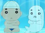 少年アシベ GO! GO! ゴマちゃん 第11話 夏だ!プールだ!ゴマちゃんだ