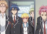 美男高校地球防衛部LOVE!LOVE! (第2期) 第1話 愛、ふたたび!