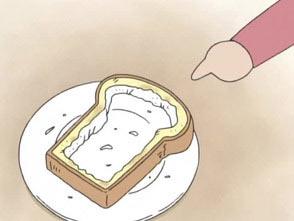 あたしンち 第4話 パンの耳などの食べ方/お母さんの正義感