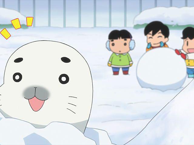 少年アシベ GO! GO! ゴマちゃん 第25話 ゴマちゃんと雪