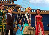ディズニー・サンデー アバローのプリンセス エレナ 第19話 ターナー船長のふるさと