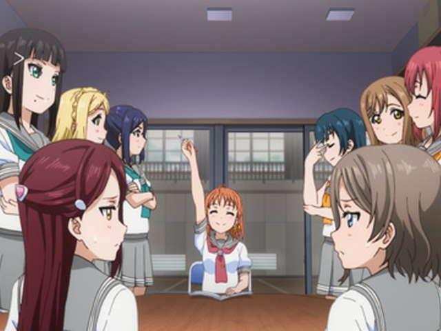 ラブライブ!サンシャイン!!TVアニメ2期 第2話 雨の音