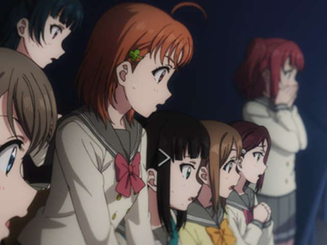 ラブライブ!サンシャイン!!TVアニメ2期 第8話 HAKODATE