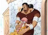 ワンピース 第742話 父娘の絆 キュロスとレベッカ!