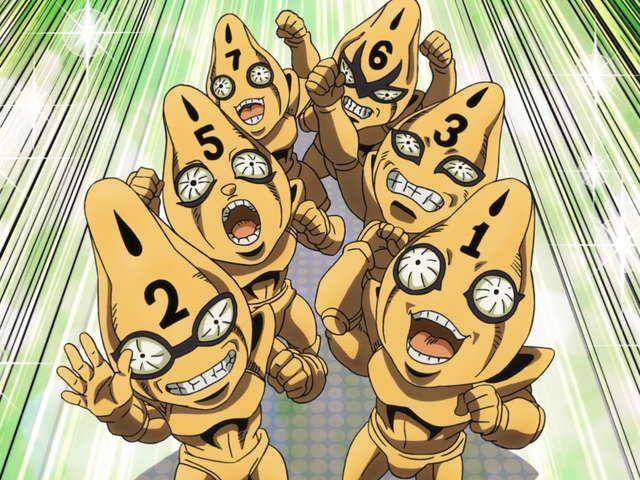 ジョジョの奇妙な冒険 黄金の風 Episodio 08 セックス・ピストルズ登場 その(2)