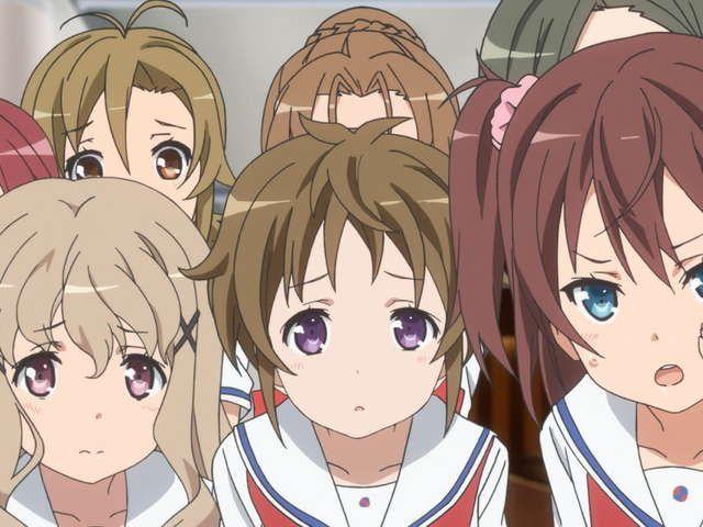 OVA ハイスクール・フリート 前編 納沙幸子がピンチ!
