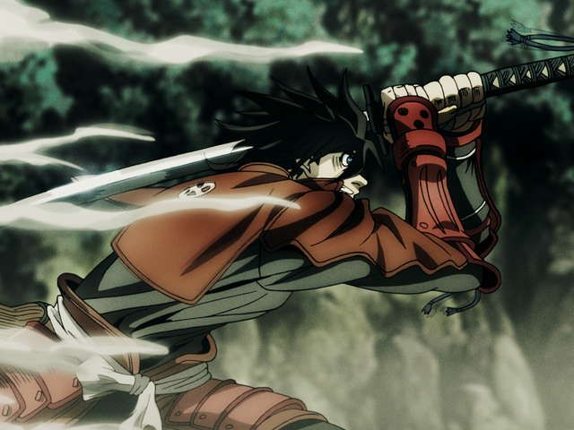 DRIFTERS 01 FIGHT SONG