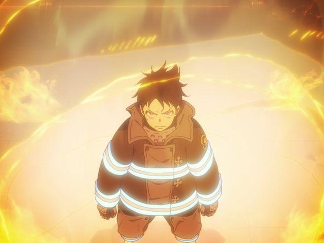 炎炎の消防隊 第壱話 「森羅 日下部、入隊」