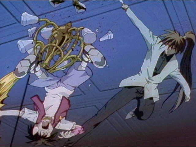 烈火の炎 第11話「鋼金暗器!五つの刃!!」
