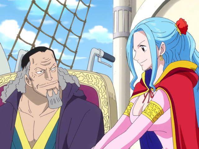 ワンピース 第777話 世界会議へ 王女ビビとしらほし姫