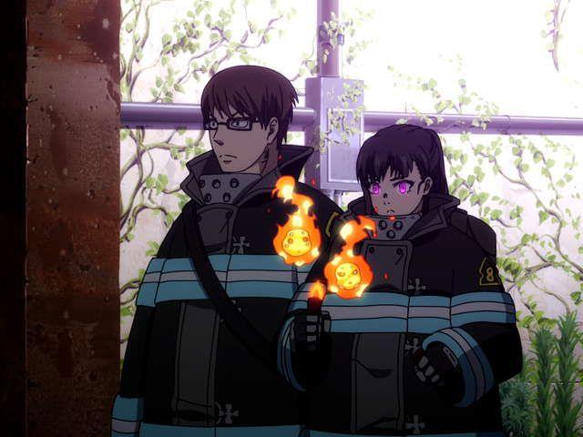 『炎炎ノ消防隊』第拾九話 地下への