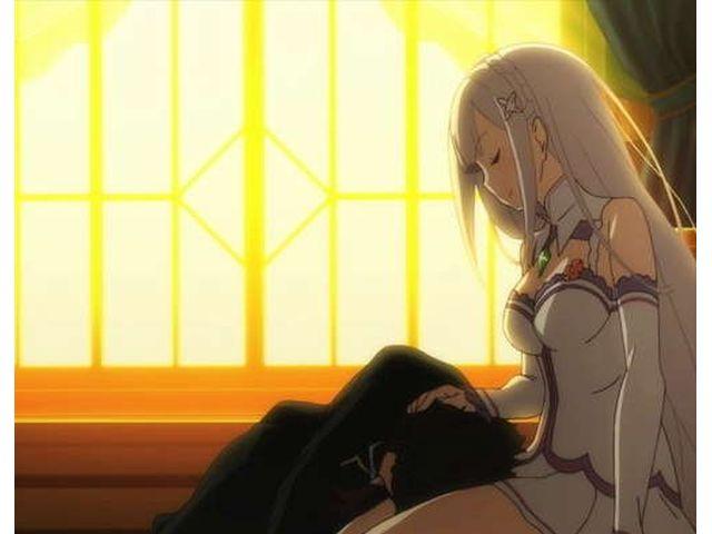 Re:ゼロから始める異世界生活 第8話 泣いて泣き喚いて泣き止んだから