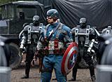 """世界最初のヒーロー""""キャプテン・アメリカ""""の活躍を描いたバトルアクション。"""