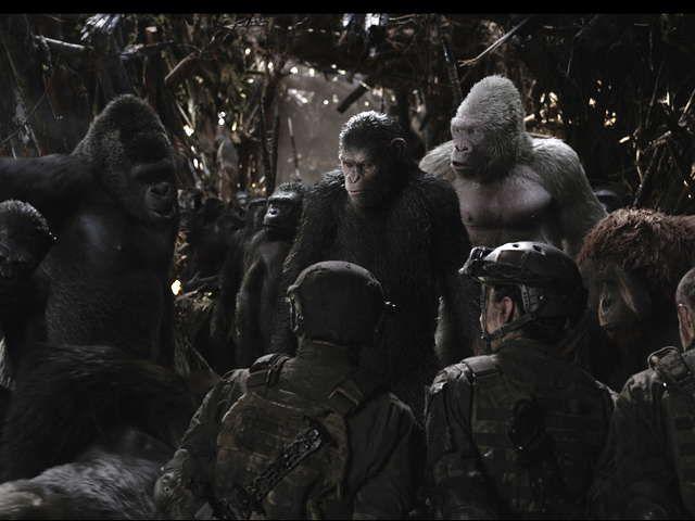 『猿の惑星:聖戦記(グレート・ウォー)』大ヒットSFアクション・シリーズ最終章!「猿の惑星」誕生に隠された、衝撃の真実が遂に明かされる。