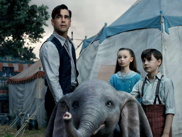 『ダンボ』ティム・バートン 監督が新たな「ダンボ」の物語を実写映画化。