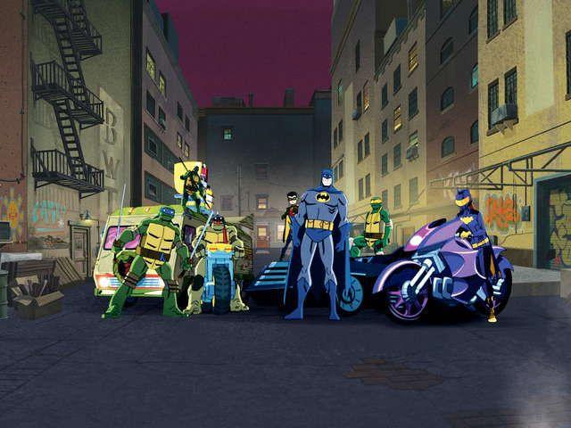 バットマン vs ミュータント・タートルズ