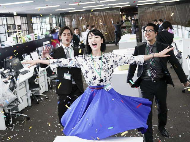 『ダンスウィズミー』世界が注目する『ウォーターボーイズ』『ハッピーフライト』矢口史靖監督最新作!歌って!踊って!笑って!かつてないコメディ・ミュージカル!