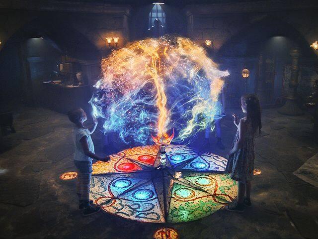 エレメント・シスターズ 4分の1の魔法