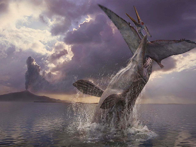 ウォーキング WITH ダイナソー スペシャル:海の恐竜たち 第3話 ジュラ紀・白亜紀