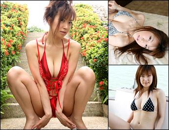 川原洋子デジタル写真集「濡時間」