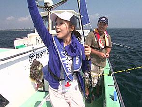 大漁!関東沖釣り爆釣会 66 神奈川県久比里の夏カワハギ