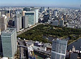 東京空撮 レインボーブリッジ/品川インターシティ/浜離宮恩賜庭園/汐留シオサイト etc.