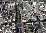 東京空撮 新丸ビル/東京駅/有楽町/日比谷公園/警視庁/国会議事堂/赤坂サカス etc.