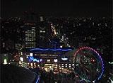 東京高層夜景 東京ドームホテル