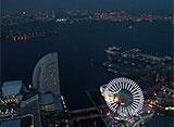 東京高層夜景 横浜ランドマークタワー(みなとみらい)