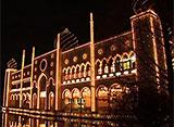 ウィンターイルミネーション 倉敷チボリ公園 光で紡ぐ冬のチボリ 光の彩典