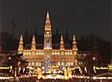 世界遺産のクリスマス ウィーン (オーストリア)