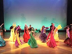 ベリーダンス・パフォーマンス 群舞