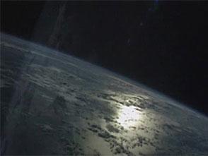 宇宙から見た地球 南北アメリカ