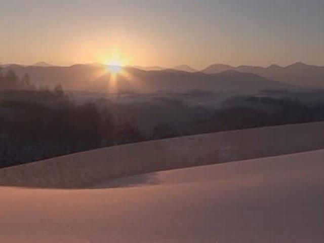 美瑛・富良野の四季 朝日の丘