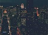 ニューヨーク空撮クルージング ナイト・フライト#1 Long Island to Manhattan via Queens
