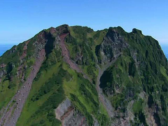 北海道「空撮百景」 空から見る風景遺産 Part2【道北エリア】 利尻島