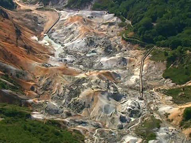 北海道「空撮百景」 空から見る風景遺産 Part4【道南エリア】 洞爺・登別