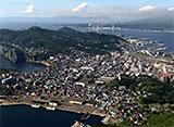 北海道「空撮百景」 空から見る風景遺産 Part4【道南エリア】 室蘭