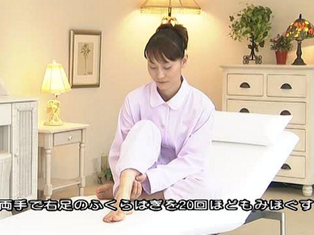 快眠シアター Part1 快眠ワンポイント 〜冷え克服ストレッチ〜