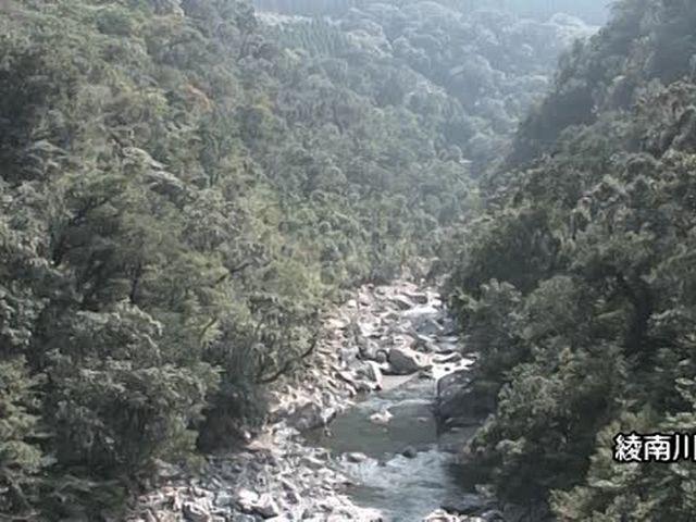 森林浴  綾渓谷(宮崎)
