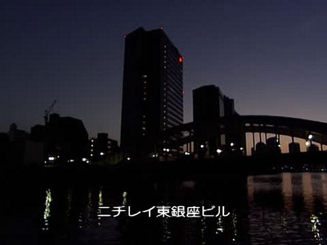 東京ウォータークルージング/リバークルーズ編 デイブレイク・クルージング
