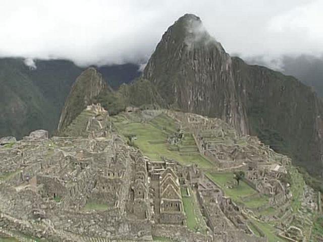 世界の絶景 マチュ・ピチュの歴史保護区/ペルー