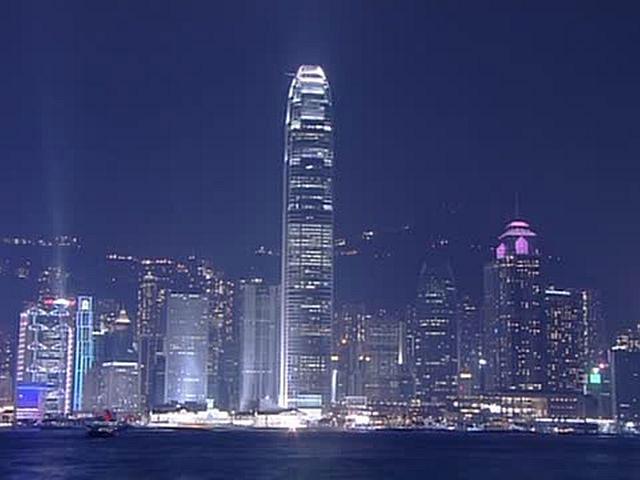 世界の絶景 香港の夜景/中国
