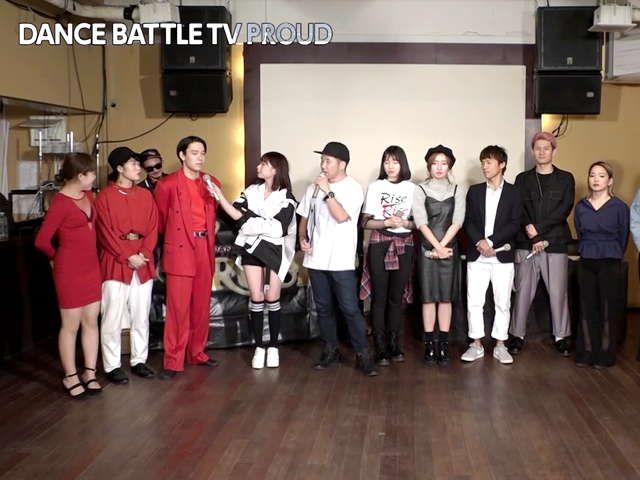 DANCE BATTLE TV PROUD シーズン3 #10 でんでんファンタジー vs. 日本の上の方