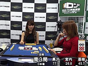 三麻エンペラー女流プロ編 予選C卓 1回戦